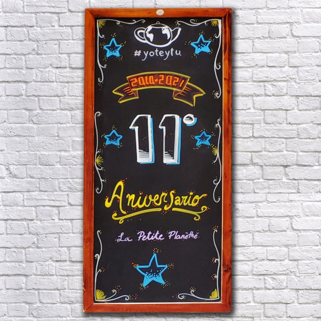 11 Aniversario de La Petite Planèthé