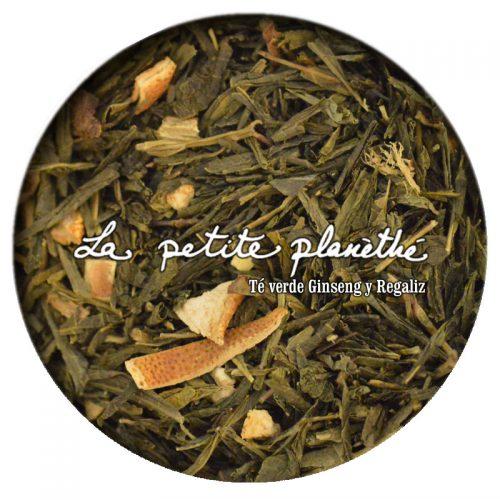 Té verde Ginseng y Regaliz