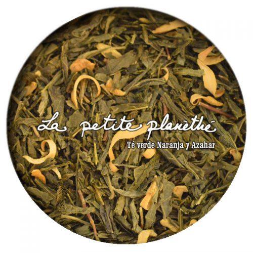 Té verde Naranja y Azahar