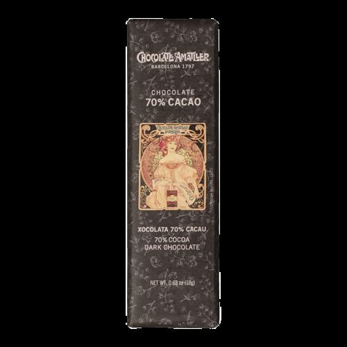 Amatller Chocolatina 70% Cacao 18g