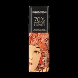 Amatller Chocolatina 70% Cacao Ecuador 18g
