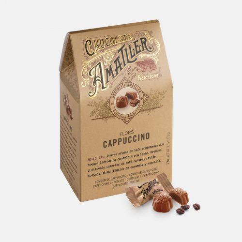 Amatller Flors Cappuccino 72g
