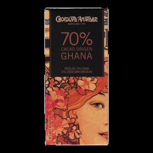Amatller Tableta 70% Cacao Ghana 70g