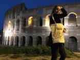 La Bolsa Viajera en el Coliseo de Roma