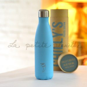 Chilly's Bottle Blue Pastel Edition 500ml