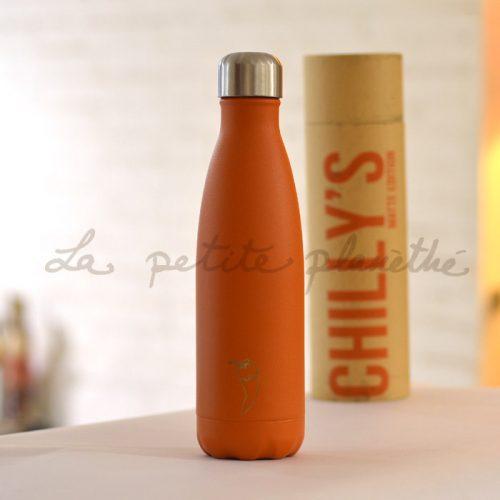 Chilly's Bottle Burnt Orange Matte Edition 500ml