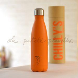 Chilly's Bottle Orange Neon 500ml