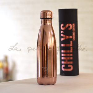 Chilly's Bottle Rose Gold Metal Edition 500ml