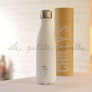 Chilly's Bottle White Matte Edition 500ml