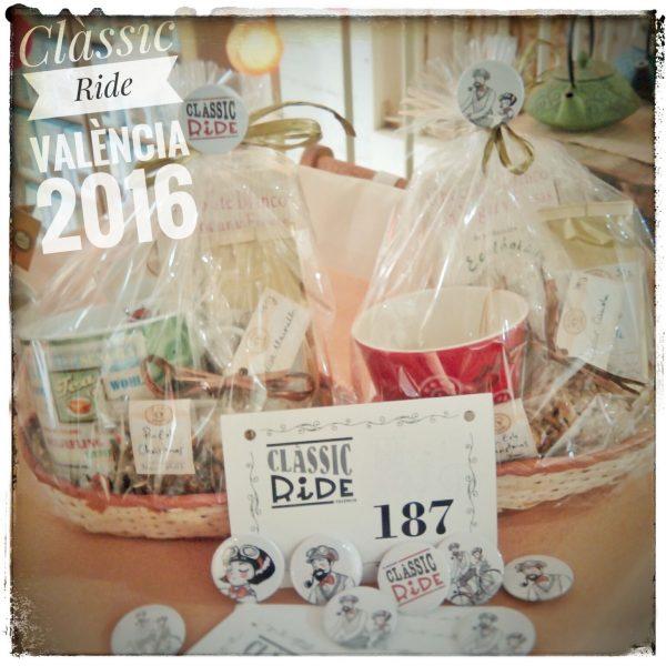 Cestas de regalo para la Clàssic Ride València