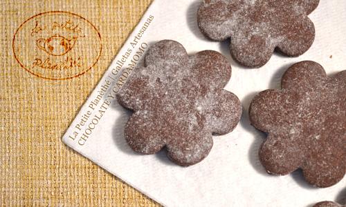 Galletas Artesanas de Chocolate y Cardamomo