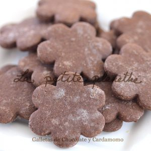 Galletas Artesanas de Chocolate y Cardamomo