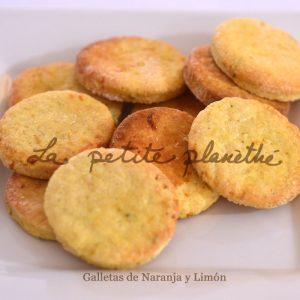 Galletas Artesanas de Naranja y Limón