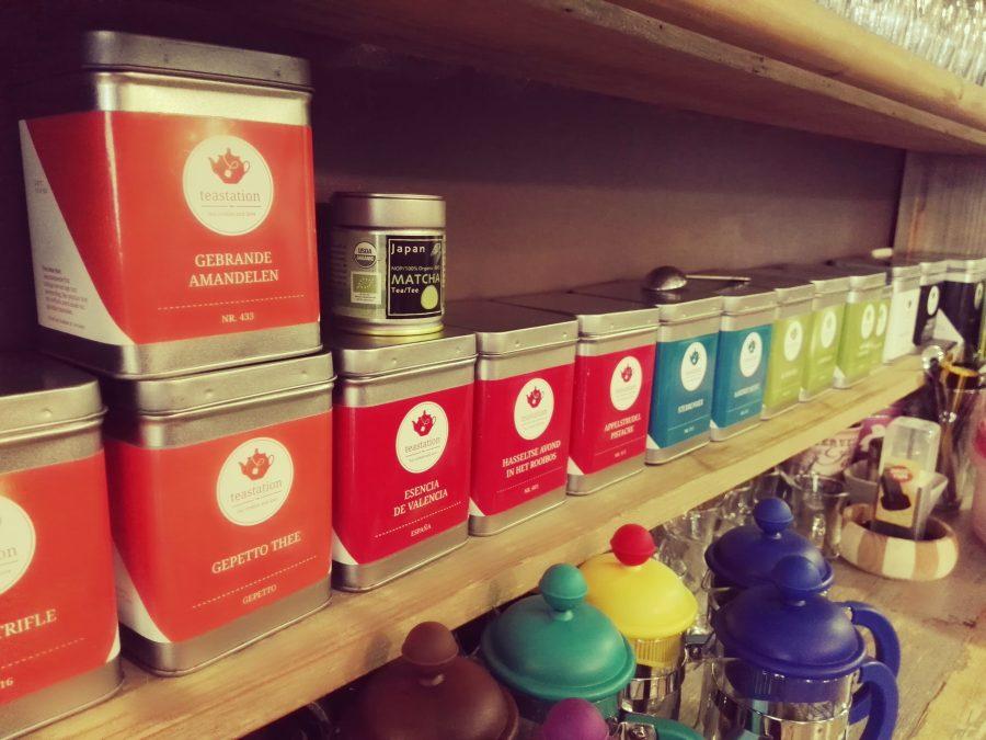 Selección de tés