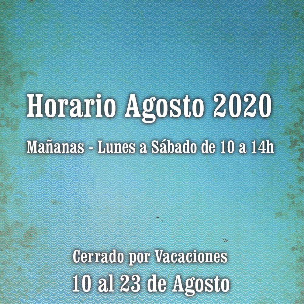 Horario Agosto 2020