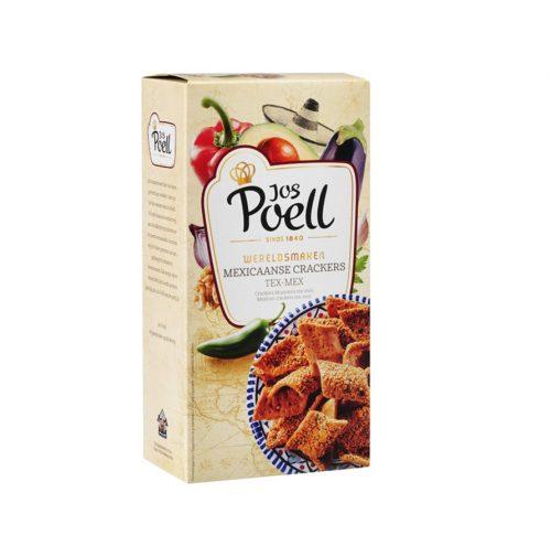 Jos Poel Tex Mex Crackers 75g
