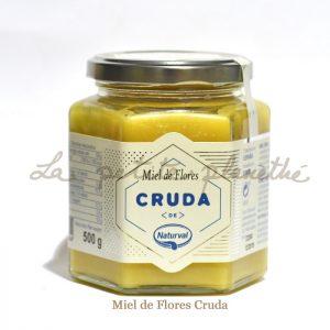 Miel de Flores Cruda 500g