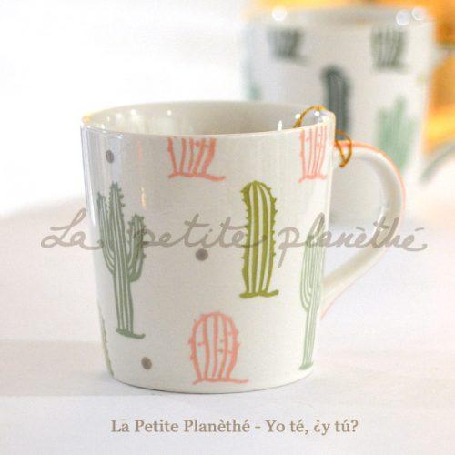 Mug Cactus Rosa 400ml