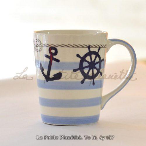 Mug Marino Azul
