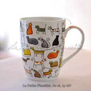 Mug Miau! Mug de porcelana