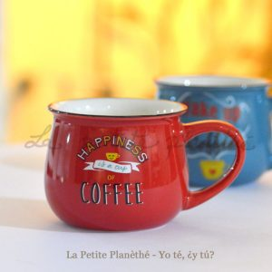 Mug Milano Rojo 350ml NBC
