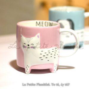 Mug Patitas Meow 400ml