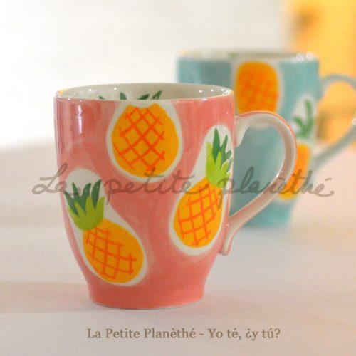 Mug Piña Rosa 300ml