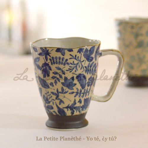 Mug japonés Asuna 400ml - Azul