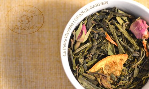 Té blanco Orange Garden