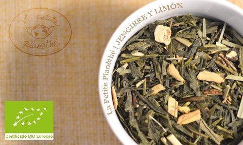 Té verde Jengibre y Limón BIO