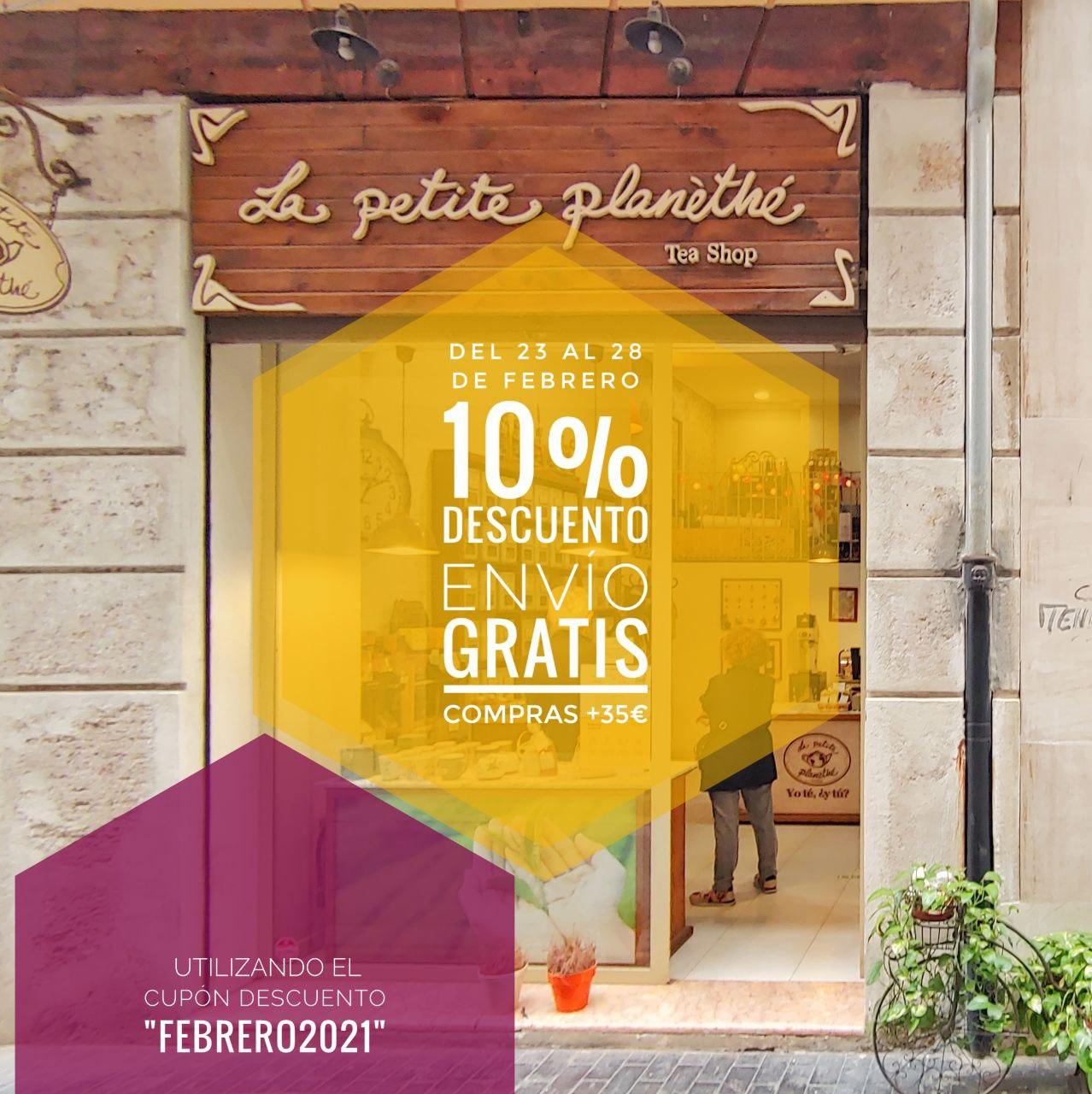 Promoción Envío Gratis y Descuento del 10%