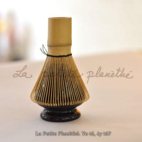 Soporte Batidor Bambú Negro 2