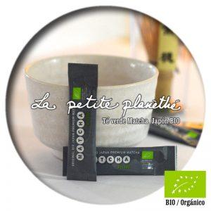 Té verde Matcha Japón BIO Monodosis 1g Premium