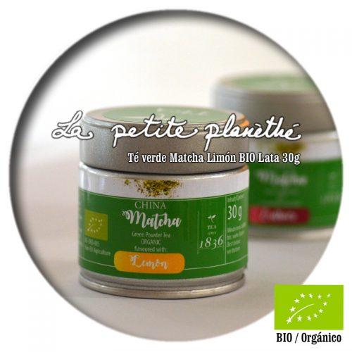 Té verde Matcha Limón BIO 30g