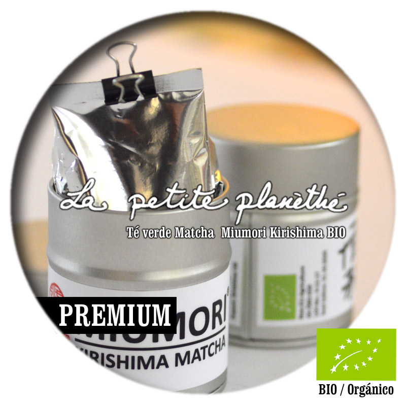 Té verde Matcha Miumori Kirishima BIO 30g