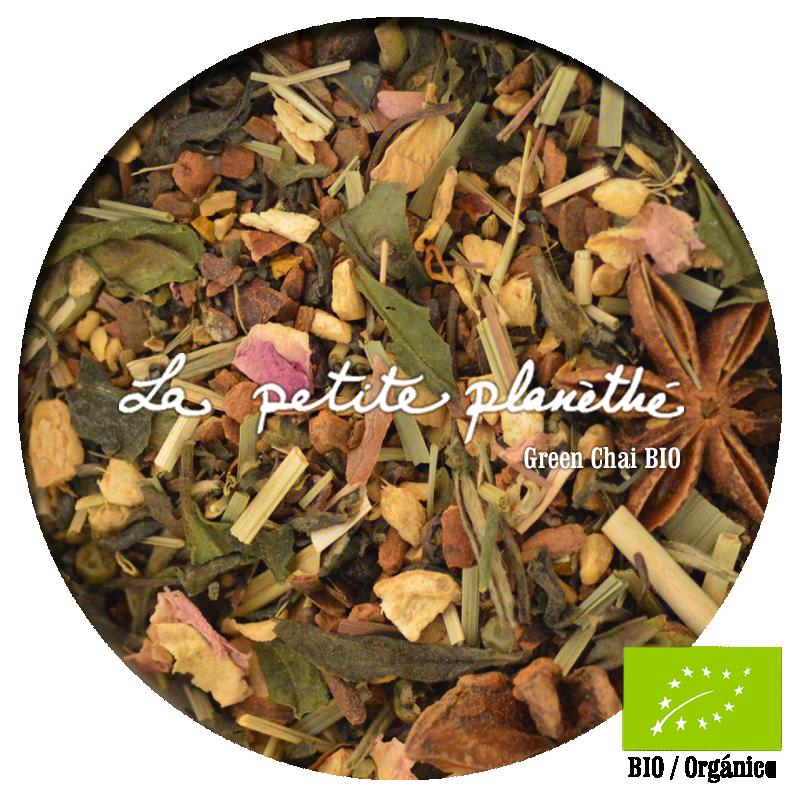 Té verde aromatizado Green Chai BIO