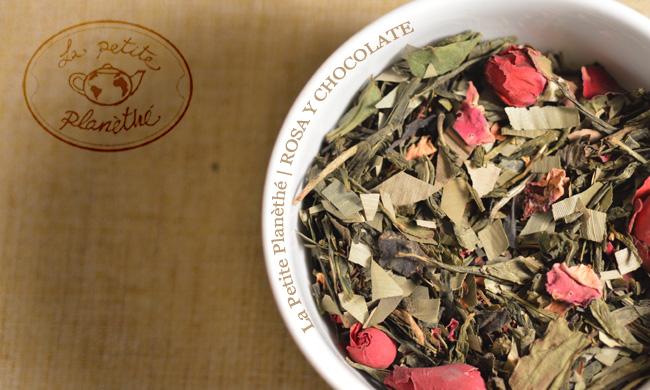 Té verde Rosa y Chocolate