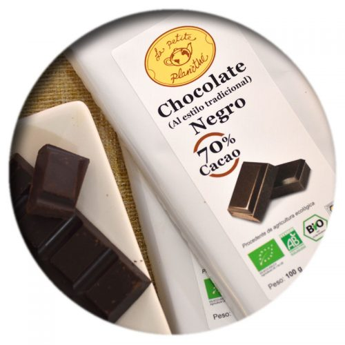 Tableta Chocolate Negro BIO 70% Cacao