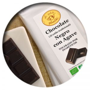 Tableta Chocolate Negro con Agave