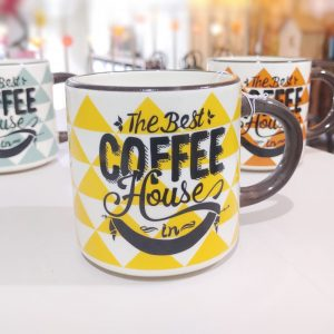 Taza Coffe House Amarilla