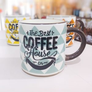 Taza Coffe House Azul