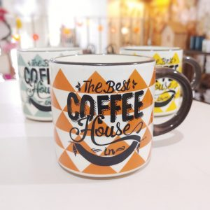 Taza Coffe House Naranja