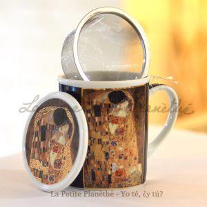 Taza con infusor Klimt