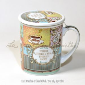 Taza con infusor Tea Hope