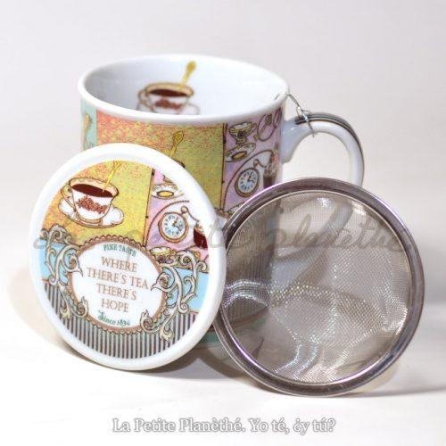 Taza con infusor Tea Hope