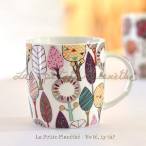Taza de porcelana Iska - geometrías