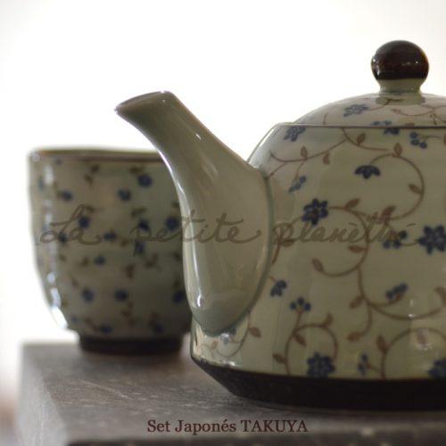 Tea Set Takuya. Japonés