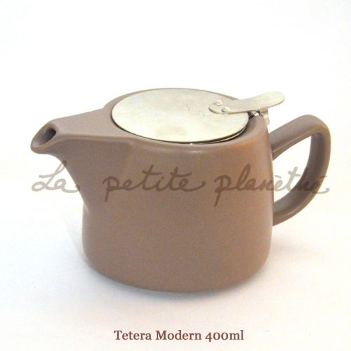 Tetera Modern 400ml Brown