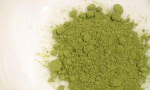 Té verde Matcha.