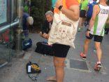 Raúl y la Bolsa Viajera en la Maratón de Valencia 2017